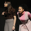 Peabody:<br /> Melissa Mills, left, plays Edna, and Nathalie Diaz, plays Bonna, in the upcoming Peabody High School play, The Good Times Are Killing Me. It is Peabody Veterans Memorial High School's entry into Massachusetts High School Drama Festival.  The first round of the festival will take place at Ipswich High School on February 27.  Peabody High School's production at the festival will be at 4:30. <br /> Photo by Ken Yuszkus/Salem News, Thursday, February 25, 2010.