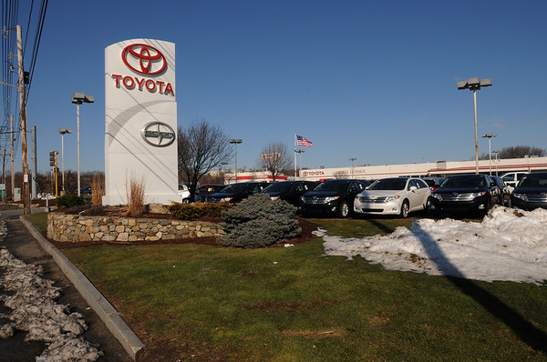 Danvers:<br /> Ira Toyota at 161 Andover Street will move to 99 Andover Street.<br /> Photo by Ken Yuszkus/Salem News, Tuesday, January 26, 2010.