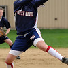 Middleton:<br /> North Shore Tech/Essex Aggie pitcher, Amanda Lucey, winds up for the pitch at the North Shore Tech/Essex Aggie softball game vs. Mystic Valley.<br /> Photo by Ken Yuszkus/Salem News, Monday, May 9, 2011.