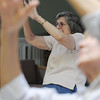 Salem:<br /> Wanda Gallagher participates in a Tai Chi class at the Salem Council on Aging on Friday morning.<br /> Photo by Ken Yuszkus/Salem News, Friday, June 17, 2011.