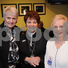 Salem:<br /> From left, Gail Scola of Glousester, Roberta Clement  and Hannah Diozzi, both of Salem, attend the Academy Award Party at Cinema Salem.<br /> Photo by Ken Yuszkus/Salem News, Sunday,  February 22, 2009.