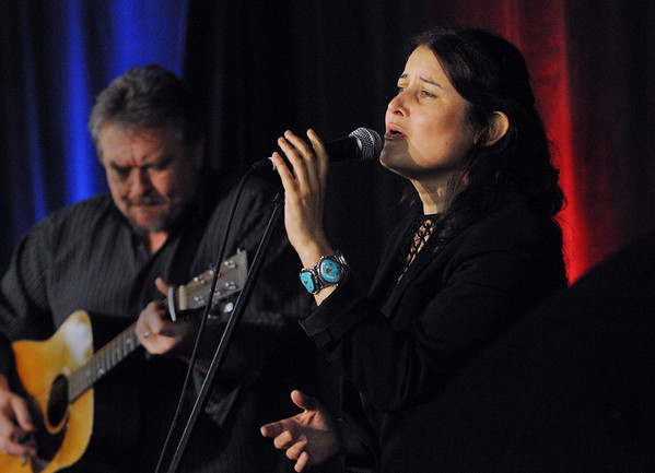 Danvers:<br /> Paula Cole sings at the Wellspring House's 12th Annual Women Honoring Women Luncheon at Crowne Plaza.<br /> Photo by Ken Yuszkus/Salem News, Monday, May 3, 2010.
