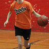Beverly:<br /> Becca Moriarty during the Beverly High girls basketball practice at Memorial School gymnasium.<br /> Photo by Ken Yuszkus/Salem News, Thursday, January 13, 2011.