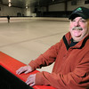 "Peabody:<br /> Robert ""Bo"" Tierney, who is being honored with a Hall of Fame coaching citation from the state, is at the McVann-O'Keefe Rink. <br /> Photo by Ken Yuszkus/Salem News, Monday, March 15, 2010."