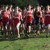 Hamilton:<br /> The start of the Masconomet vs Newburyport boys cross country race at Bradley Palmer Stae Park.<br /> Photo by Ken Yuszkus/Salem News, Thursday, October 20, 2011.