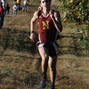 Hamilton:<br /> Newburyport's Chris Suprin runs toward the finish line to win the Masconomet vs Newburyport boys cross country race at Bradley Palmer Stae Park.<br /> Photo by Ken Yuszkus/Salem News, Thursday, October 20, 2011.