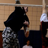 Danvers:<br /> Andrew Lutz, St. John's Prep volleyball player at a game against Chelmsford.<br /> Photo by Ken Yuszkus/Salem News, Wednesday, April 7, 2010.