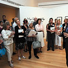 Salem:<br /> Phillip Prodger, photo curator at the Peabody Essex Museum, speaks about the new Man Ray exhibit at the Peabody Essex Museum<br /> Photo by Ken Yuszkus/Salem News, Thursday, June 9, 2011.