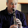 Manchester:<br /> Stephen Bates, who played clarinet with the Kennedy Center Opera Orchestra for three decades, will debut a new composition during the upcoming Music at Eden's Edge concerts.<br /> Photo by Ken Yuszkus/Salem News, Monday, June 20, 2011.
