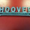 Danvers:<br /> The Herbert Hoover license plate holder owned by Alan Hartnett, an avid collector of political memorabilia.<br /> Photo by Ken Yuszkus/Salem News, Wednesday, February 8, 2012.
