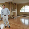 Danvers:<br /> Developer John Thomson is in one of the new condo units at the old stone barn which was part of the Homes For the Deaf property.<br /> Photo by Ken Yuszkus/Salem News, Thursday, June 23, 2011.