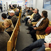 Danvers:<br /> The ribbon cutting ceremony officially opened  the new RMV Limited Branch in Danvers today. <br /> Photo by Ken Yuszkus/Salem News, Monday, January 25, 2010.