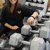 Peabody:<br /> Phyllis Madanian is the owner of the Peabody Athletic Club.<br /> Photo by Ken Yuszkus/Salem News, Monday, January 3, 2011.