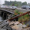 Danvers:<br /> The bridge on Water Street in Danvers.<br /> Photo by Ken Yuszkus/Salem News, Monday, June 25, 2012.