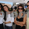 Peabody:<br /> From left, Zerenita Reynolds, Ana Liciu, Sheila Silva and Miercio Silva, all of Peabody, at Peabody's 26th annual International Festival.<br /> Photo by Ken Yuszkus/Salem News, Sunday, September 13, 2009.