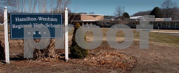 Hamilton:<br /> Hamilton-Wenham Regional High School.<br /> Photo by Ken Yuszkus/Salem News, Tuesday, March 24, 2009.