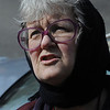 Salem:<br /> Erika Phillips speaks about the fire at her 98 Washington Square residence last Friday afternoon.<br /> Photo by Ken Yuszkus/Salem News, Wedesday, March 23, 2011.