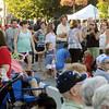 Danvers:<br /> People crowd Maple Street during the Danvers Family Festival held in Danvers Square.<br /> Photo by Ken Yuszkus/Salem News, Thursday, June 28,  2012.