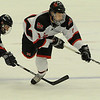 Cambridge:<br /> Marblehead's Ian Maag is tripped by a Pembroke player and goes down in the first period during the Marblehead vs Pembroke division 3 state semifinals at Bright Center at Harvard University.<br /> Photo by Ken Yuszkus/Salem News, Tuesday March 15, 2011.