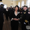 Salem:<br /> Mayor Kimberley Driscoll enters the upstairs hall at Old Town Hall during the processional at her inaugural ceremony. Mayor Kimberley Driscoll took the oath of office for her second term.<br /> Photo by Ken Yuszkus/Salem News, Monday, January 4, 2010
