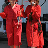 Beverly:<br /> Gail Goodell, left, as Lola, and her sister, Nancy Coffee, as Lulu, competed as The Septuagenarian Crustacean Sensations, and won first place in the Lobster Festival Costume Contest, held as part of the annual Beverly Homecoming Lobster Festival.<br /> Photo by Ken Yuszkus/Salem News, Wednesday, August 3, 2011.