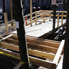 Salem:<br /> The city is constructing an elevator to make Salem City Hall handicapped accessible.The construction is in the back of city hall.<br /> Photo by Ken Yuszkus/Salem News, Thursday, Decmber 3, 2009.