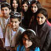 Salem:<br /> Children from an orphanage in Afghanistan spoke at the Salem Rotary Club yesterday. Front row, left to right, Araj Khurasani, 14; Mohsin Nuri, 11; and Shogofa Siddiqi, 12; Second row: Hala Rahmani, 16, Lida Azami, 17; Maria Fahim, 17; and Nasrin Sultani, an official at the orphanage run by the Afghan Child Education and Care Organization. In the back is Ian Pounds, an American-born teacher at the orphanage.<br /> Photo by Ken Yuszkus/Salem News, Tuesday, January 3, 2011.