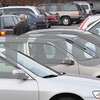 Danvers:<br /> The heavy turnout of voters was apparent by the large number of cars crowding Danvers High School in the late afternoon. <br /> Photo by Ken Yuszkus/Salem News, Tuesday, November 4, 2008.