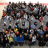 Salem:<br /> The Salem High School Class of 2009 in the field house.<br /> Photo by Ken Yuszkus/Salem News, Thursday May 7, 2009.