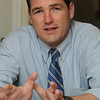 Peabody:<br /> Sean Fitzgerald is a candidate for mayor of Peabody.<br /> Photo by Ken Yuszkus/Salem News, Friday, October 7, 2011.