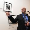 Salem:<br /> Phillip Prodger, photo curator at the Peabody Essex Museum, speaks about the new Man Ray exhibit at the Peabody Essex Museum<br /> Photo by Ken Yuszkus/Salem News, Thursday, June 9, 2011.