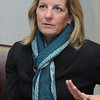 Beverly:<br /> Joan Lovely is a candidate for the state senate seat. She is currently the Salem city councilor at large.<br /> Photo by Ken Yuszkus/Salem News, Thursday, January 12, 2012.