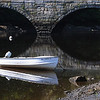 Ipswich:<br /> A boat moored in the calm Ipswich River in the morning. <br /> Photo by Ken Yuszkus/Salem News, Wednesday, June 8, 2011.