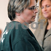Salem:<br /> Tracy Sutley, the woman who stole 1.2 million from her employer, is arraigned in Salem superior court.<br /> Photo by Ken Yuszkus/Salem News, Thursday,  February 5, 2009.