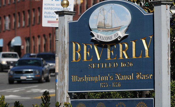Beverly:<br /> The sign at the base of the bridge on Route 1a where you enter Beverly which states Beverly was Washington's Naval Base between 1775 - 1776.<br /> Photo by Ken Yuszkus/Salem News, Wednesday,  October 13, 2010.