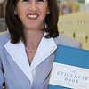 "Peabody:<br /> Marblehead resident Jodi R.R. Smith just published ""The Etiquette Book: A Complete Guide to Modern Manners."" <br /> Photo by Ken Yuszkus/Salem News, Thursday, June 30, 2011."