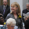 Boston:<br /> Lynn Murray of Salem, stands as she is recognized during the Ninth Annual Unsung Heroines of Massachusetts program at the state house.<br /> Photo by Ken Yuszkus/Salem News, Wednesday, May 16, 2012.
