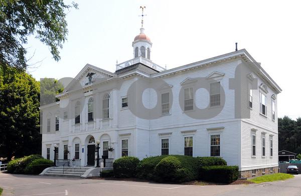 Hamilton:<br /> Hamilton town hall.<br /> Photo by Ken Yuszkus/Salem News, Monday, July 13, 2009.