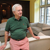 Wenham:<br /> Jim Mullen in the foyer of Penguin Hall. Penguin Hall will become a Senior Independent Living complex.<br /> Photo by Ken Yuszkus/The Salem News, Thursday, August 9, 2012.