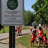 Beverly:<br /> Carry In Carry Out signs are posted at various spots in Lynch Park.<br /> Photo by Ken Yuszkus/Salem News, Friday, July 15, 2011.