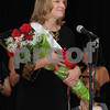 Topsfield:<br /> The new Mrs. Essex County, Krista McLellan of Hamilton, stands on stage after just being crowned at the Coolidge Hall at the Topsfield Fair.<br /> Photo by Ken Yuszkus/Salem News, Sunday October11, 2009.