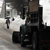 Salem:<br /> The winter scene along Essex Street in Salem on Wednesday morning.<br /> Photo by Ken Yuszkus/Salem News, Wednesday, February 2, 2011.