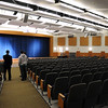 Beverly:<br /> Touring the renovated auditorium after the ribbon cutting ceremony for the new Beverly High School on Friday morning.<br /> Photo by Ken Yuszkus/Salem News,  Friday,  November 19, 2010.