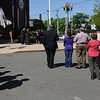 Salem:<br /> The name of the Salem Police Station was renamed for former chief Robert St. Pierre.<br /> Photo by Ken Yuszkus/Salem News, Tuesday, May 11, 2010.