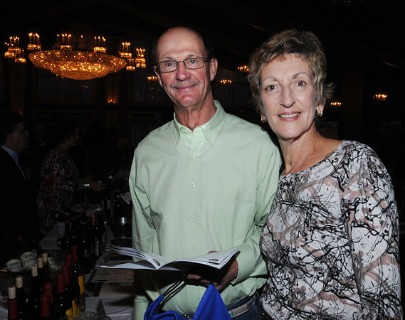 Danvers:<br /> Jack and Marjorie French of Beverly, attend the Danvers Educational Enrichment Partnership's 13th Wine and Food Tasting at the Danversport Yacht Club.<br /> Photo by Ken Yuszkus/Salem News, Thursday, October 13, 2011.