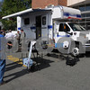 Danvers:<br /> The Commonwealth of Massachusetts Department of Environmental Protection displays the new $180,000 emergency response vehicle outside the Danvers fire station. MassDEP unveiled the high tech emergency response, Field Assessment and Support Team vehicle purchased as a result of the need to respond to the chemical factory explosion in Danvers on Nov. 22, 2006. The FAST vehicle will enable on-scene environmental staff to test air, water and soil contamination to help protect the public during such emergencies.<br /> Photo by Ken Yuszkus/Salem News, Wednesday September 17, 2008.