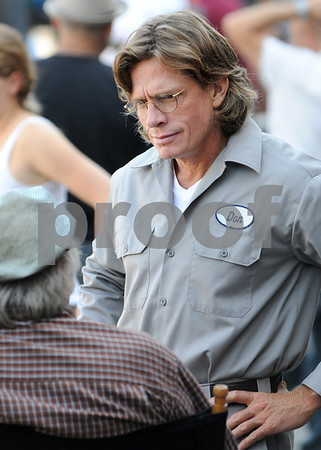 """Middleton:<br /> Thomas Haden Church, actor, was at the Candlelite motel for the filming of one of the scenes in the upcoming movie """"Don McKay"""" which will be released in January.<br /> Photo by Ken Yuszkus/Salem News Friday, September 05, 2008"""