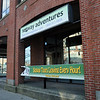 Salem:<br /> The empty store front, vacated by Salem Seggliders.<br /> Photo by Ken Yuszkus/Salem News, Wednesday, November 30, 2011.