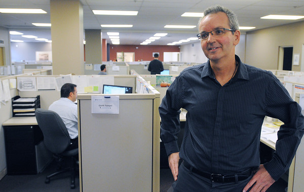 Salem:<br /> Andrew Lutts, the founder and CEO, of Net Atlantic, which is a email marketing solutions company.<br /> Photo by Ken Yuszkus/Salem News, Thursday, November 17, 2011.