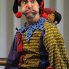 Swampscott:<br /> Alex the Jester performs stunts, sight gags, physical feats, juggling, etc. at the Swampscott Public Library as the grand finale to the library's summer reading program.<br /> Photo by Ken Yuszkus/Salem News, Thursday, August 11, 2011.